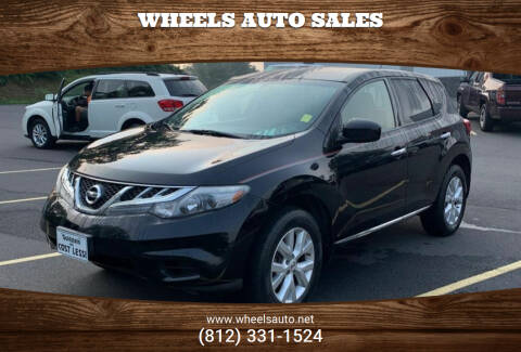 2012 Nissan Murano for sale at Wheels Auto Sales in Bloomington IN