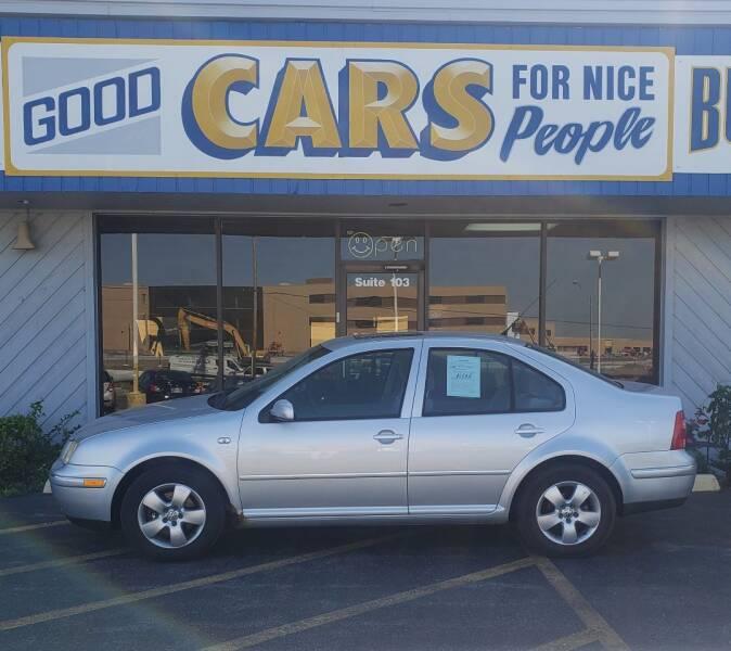 2004 Volkswagen Jetta for sale at Good Cars 4 Nice People in Omaha NE