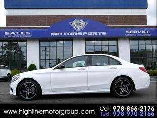 2018 Mercedes-Benz C-Class for sale at Highline Group Motorsports in Lowell MA