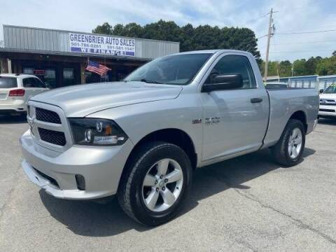 2014 RAM Ram Pickup 1500 for sale at Greenbrier Auto Sales in Greenbrier AR