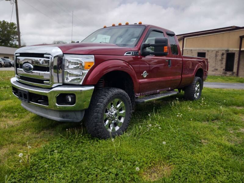 2013 Ford F-250 Super Duty for sale at KW TRUCKING OF KS in Saint Paul KS