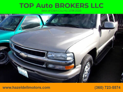 2000 Chevrolet Tahoe for sale at TOP Auto BROKERS LLC in Vancouver WA