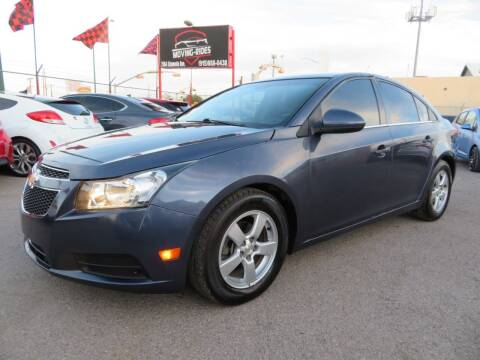 2014 Chevrolet Cruze for sale at Moving Rides in El Paso TX