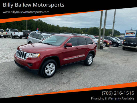2012 Jeep Grand Cherokee for sale at Billy Ballew Motorsports in Dawsonville GA