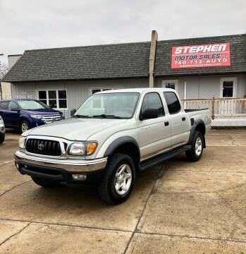 2003 Toyota Tacoma for sale at Stephen Motor Sales LLC in Caldwell OH