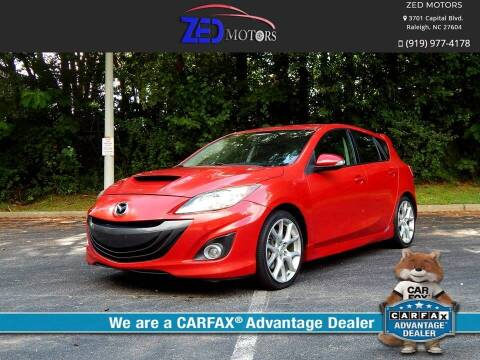 2010 Mazda MAZDASPEED3 for sale at Zed Motors in Raleigh NC