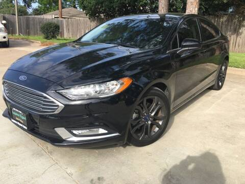 2018 Ford Fusion for sale at Laguna Niguel in Rosenberg TX