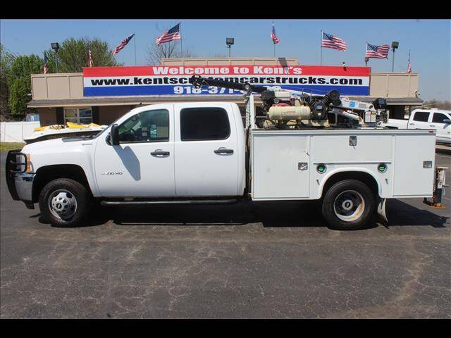 2012 Chevrolet Silverado 3500HD CC for sale at Kents Custom Cars and Trucks in Collinsville OK