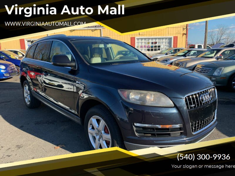 2011 Audi Q7 for sale at Virginia Auto Mall in Woodford VA