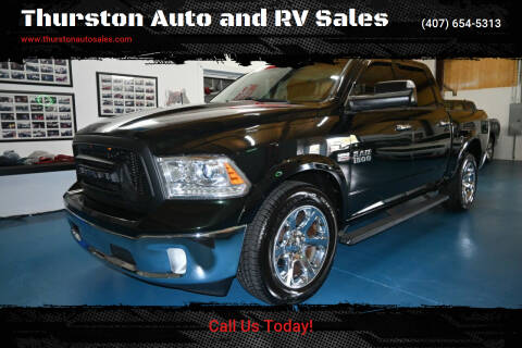2016 RAM Ram Pickup 1500 for sale at Thurston Auto and RV Sales in Clermont FL