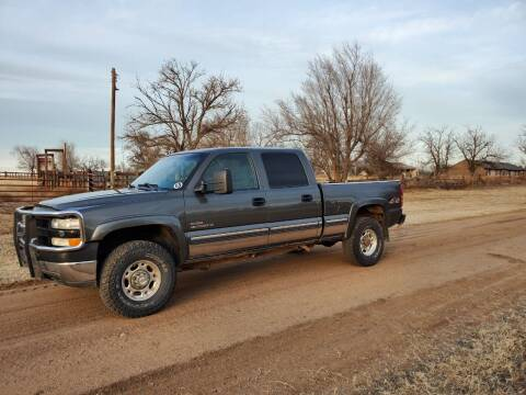2002 Chevrolet Silverado 2500HD for sale at TNT Auto in Coldwater KS