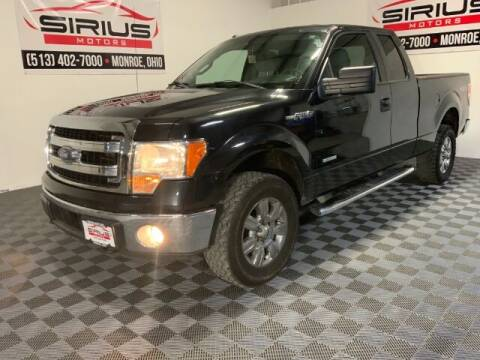 2014 Ford F-150 for sale at SIRIUS MOTORS INC in Monroe OH