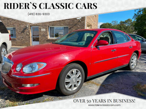 2008 Buick LaCrosse for sale at Rider`s Classic Cars in Millbury OH