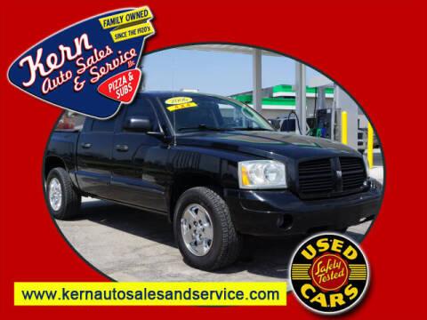 2006 Dodge Dakota for sale at Kern Auto Sales & Service LLC in Chelsea MI