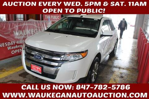 2011 Ford Edge for sale at Waukegan Auto Auction in Waukegan IL