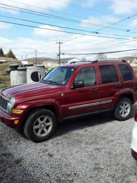 2005 Jeep Liberty for sale at STAR CITY PRE-OWNED in Morgantown WV
