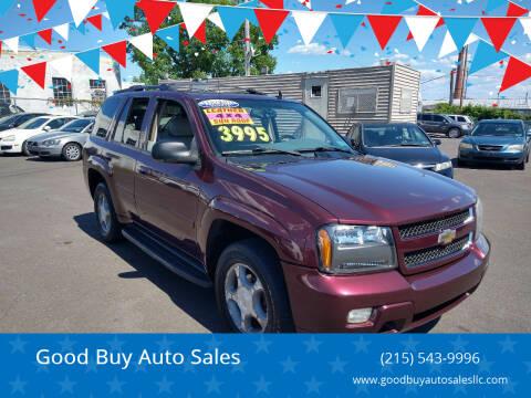 2006 Chevrolet TrailBlazer for sale at Good Buy Auto Sales in Philadelphia PA
