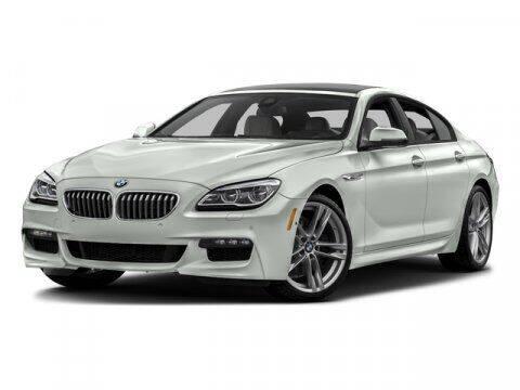 2016 BMW 6 Series for sale at Distinctive Car Toyz in Pleasantville NJ