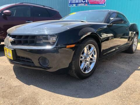 2012 Chevrolet Camaro for sale at El Tucanazo Auto Sales in Grand Island NE