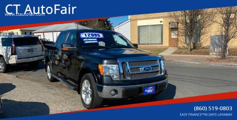 2011 Ford F-150 for sale at CT AutoFair in West Hartford CT
