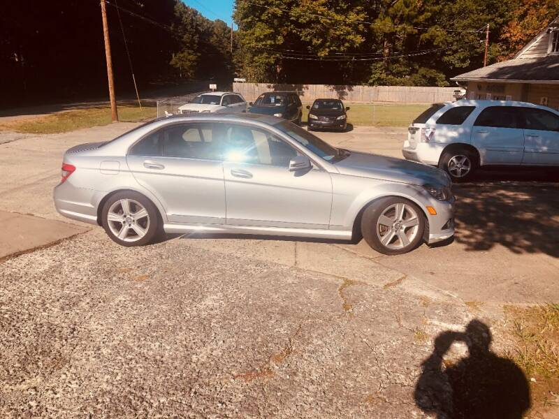 2010 Mercedes-Benz C-Class for sale at Moore's Motors in Durham NC
