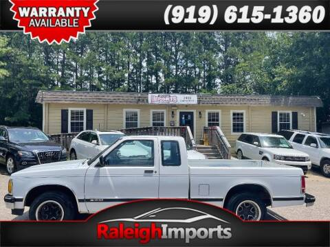 1992 Chevrolet S-10 for sale at Raleigh Imports in Raleigh NC