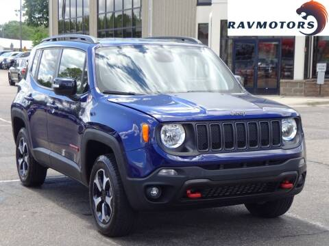 2019 Jeep Renegade for sale at RAVMOTORS 2 in Crystal MN