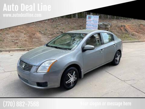 2007 Nissan Sentra for sale at Auto Deal Line in Alpharetta GA