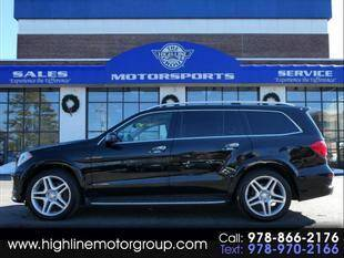 2014 Mercedes-Benz GL-Class for sale at Highline Group Motorsports in Lowell MA