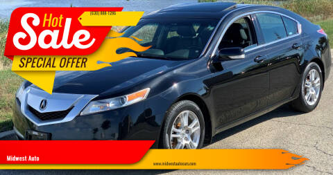 2009 Acura TL for sale at Midwest Auto in Naperville IL