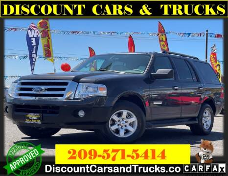 2007 Ford Expedition for sale at Discount Cars & Trucks in Modesto CA