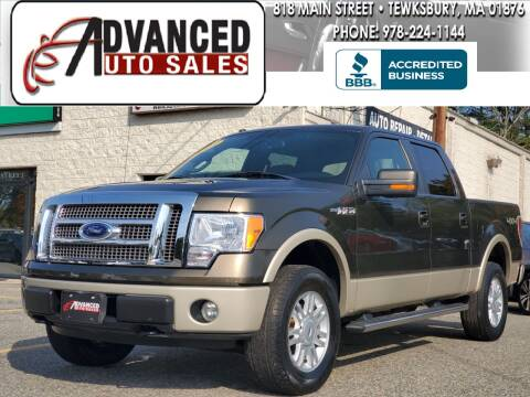 2009 Ford F-150 for sale at Advanced Auto Sales in Tewksbury MA