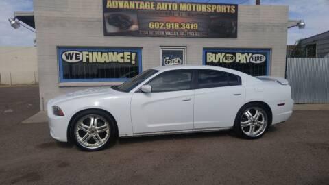 2013 Dodge Charger for sale at Advantage Motorsports Plus in Phoenix AZ