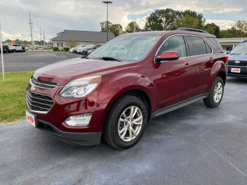 2016 Chevrolet Equinox for sale at McCully's Automotive in Benton KY