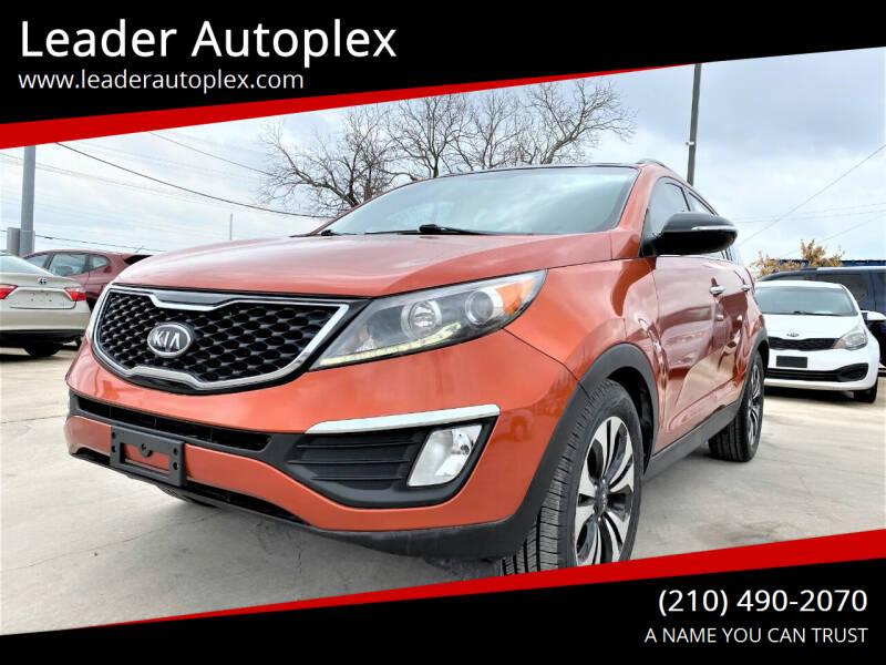 2011 Kia Sportage for sale at Leader Autoplex in San Antonio TX