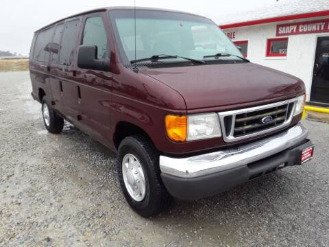 2006 Ford E-Series Wagon for sale at Sarpy County Motors in Springfield NE