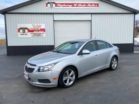 2013 Chevrolet Cruze for sale at Highway 9 Auto Sales - Visit us at usnine.com in Ponca NE