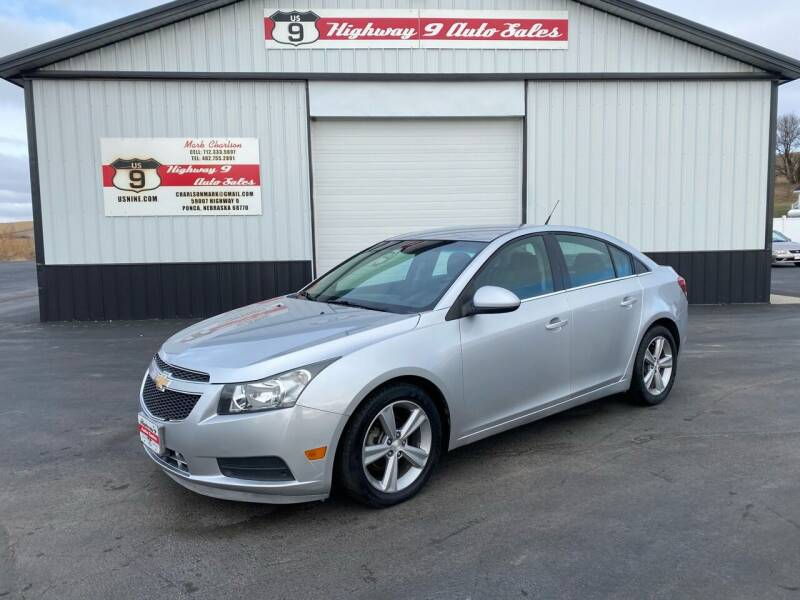 2013 Chevrolet Cruze for sale at Highway 9 Auto Sales - Visit us at usnine.com in Ponca NE