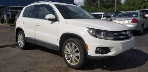 2014 Volkswagen Tiguan for sale at Tri City Auto Mart in Lexington KY