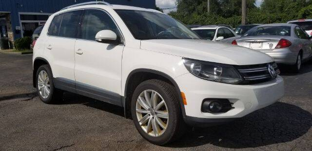 2014 Volkswagen Tiguan for sale at Tri City Auto Mart in Lexington KY