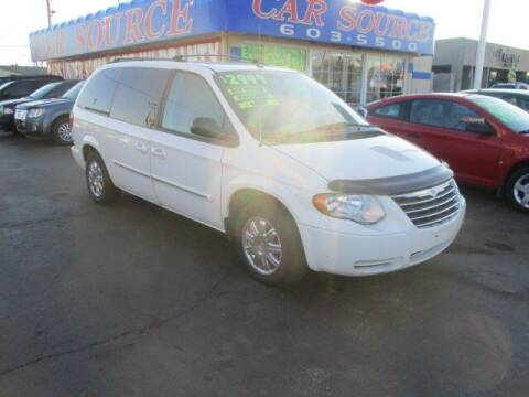 2007 Chrysler Town and Country for sale at CAR SOURCE OKC in Oklahoma City OK