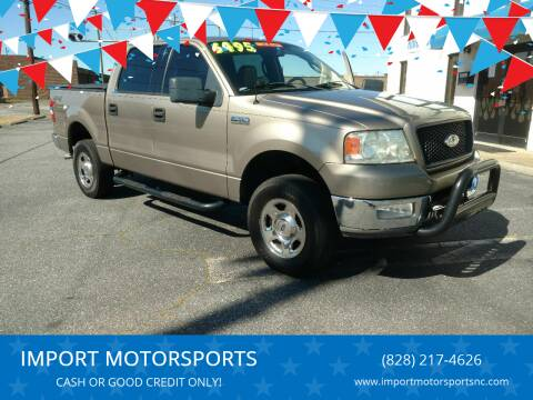 2004 Ford F-150 for sale at IMPORT MOTORSPORTS in Hickory NC