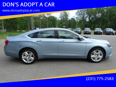 2014 Chevrolet Impala for sale at DON'S ADOPT A CAR in Cadillac MI