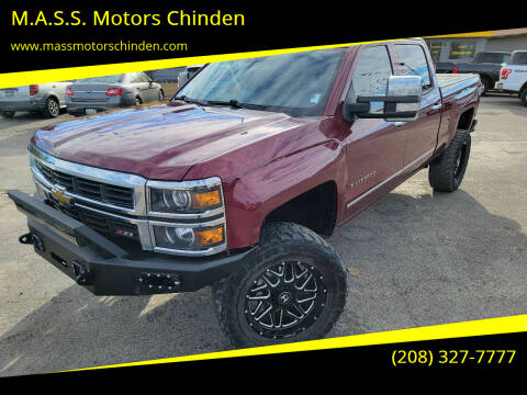 2014 Chevrolet Silverado 1500 for sale at M.A.S.S. Motors - West Fairview in Boise ID