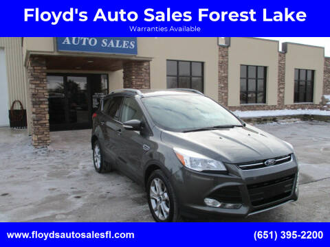 2016 Ford Escape for sale at Floyd's Auto Sales Forest Lake in Forest Lake MN