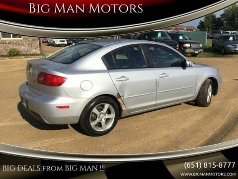 2006 Mazda MAZDA3 for sale at Big Man Motors in Farmington MN