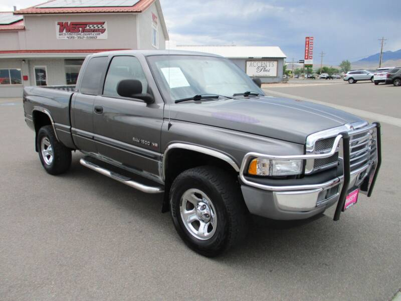 2001 Dodge Ram Pickup 1500 for sale at West Motor Company in Hyde Park UT