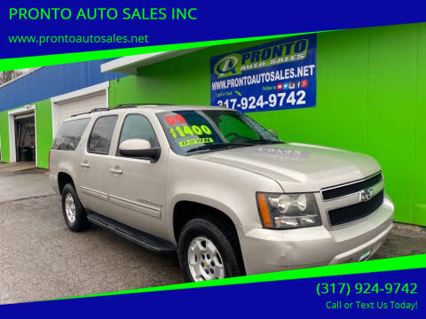 2009 Chevrolet Suburban for sale at PRONTO AUTO SALES INC in Indianapolis IN