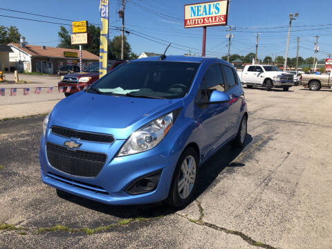 2015 Chevrolet Spark for sale at Neals Auto Sales in Louisville KY