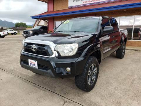 2014 Toyota Tacoma for sale at Ohana Motors in Lihue HI
